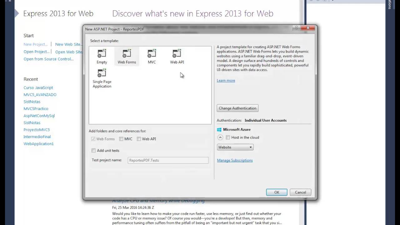 INSTALANDO EL ITEXTSHARP EN VISUAL STUDIO 2013 - REPORTES CON ITEXTSHARP EN  ASP  NET - VIDEO 01