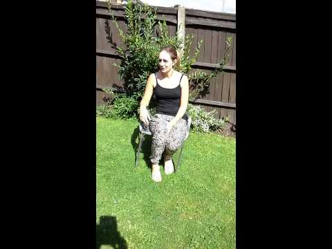 Joanne's ALS Ice Bucket Challenge (turn up the volume!)