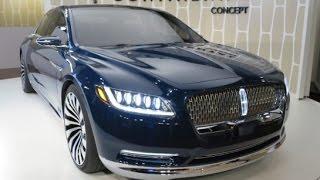 2016 Lincoln Continental Concept Car