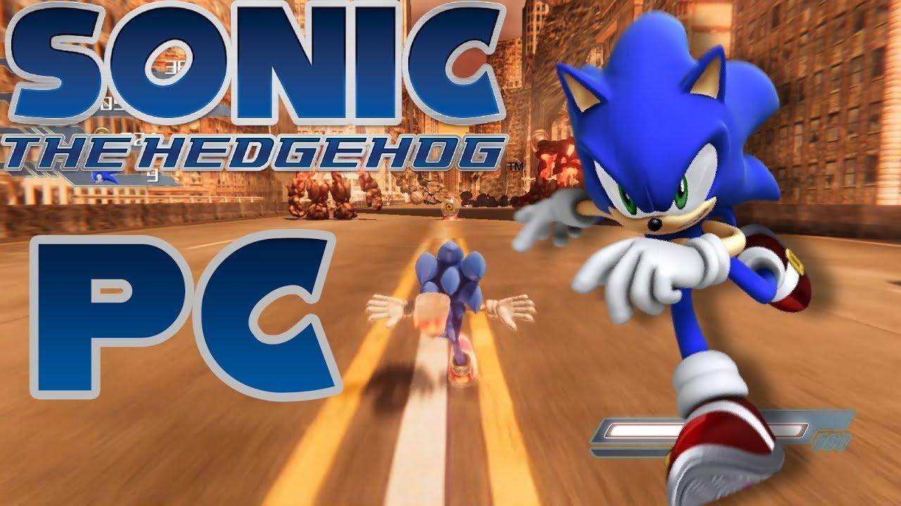 Sonic The Hedgehog 2006 En Pc Sage 2018 Demo Youtube