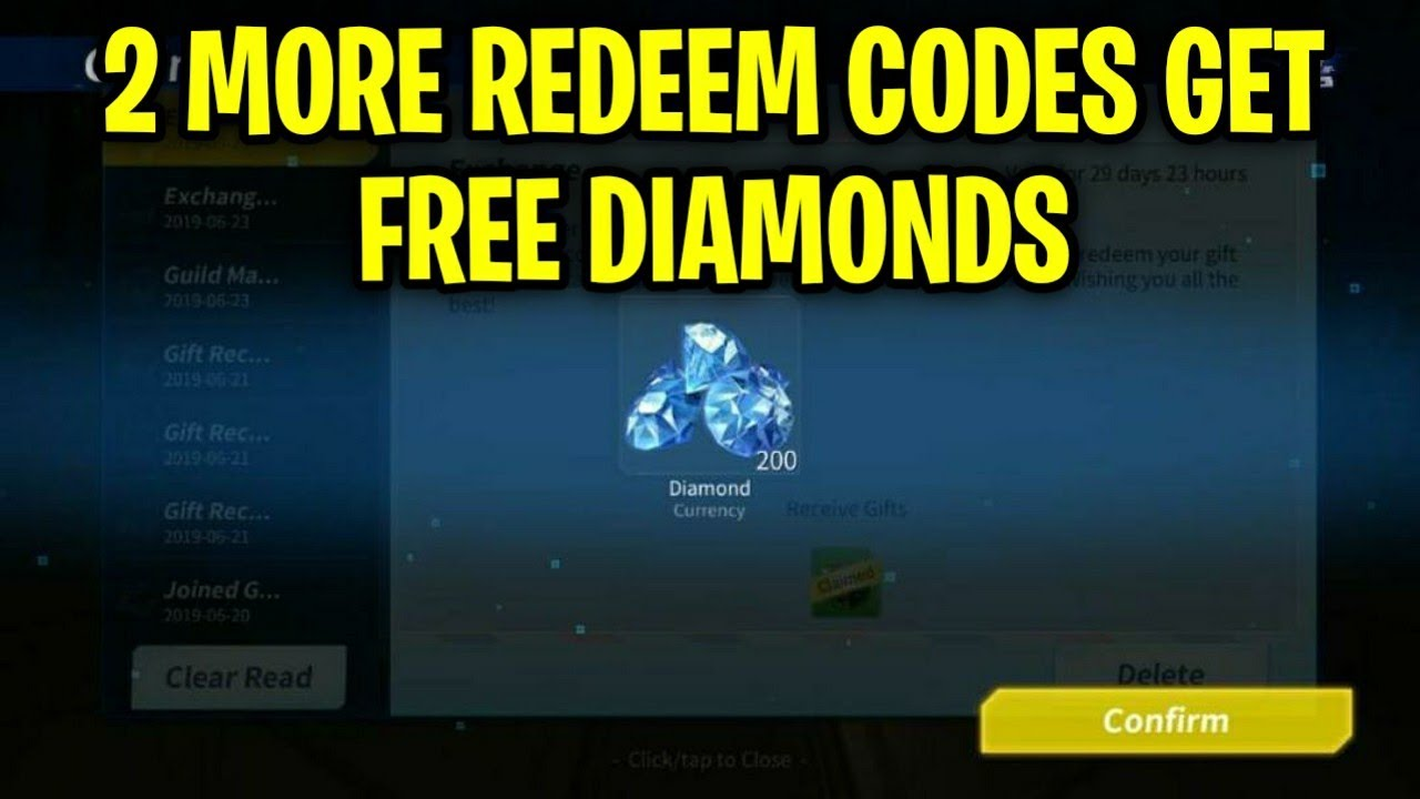 2 MORE REDEEM CODES FOR FREE DIAMONDS IN CREATIVE ...