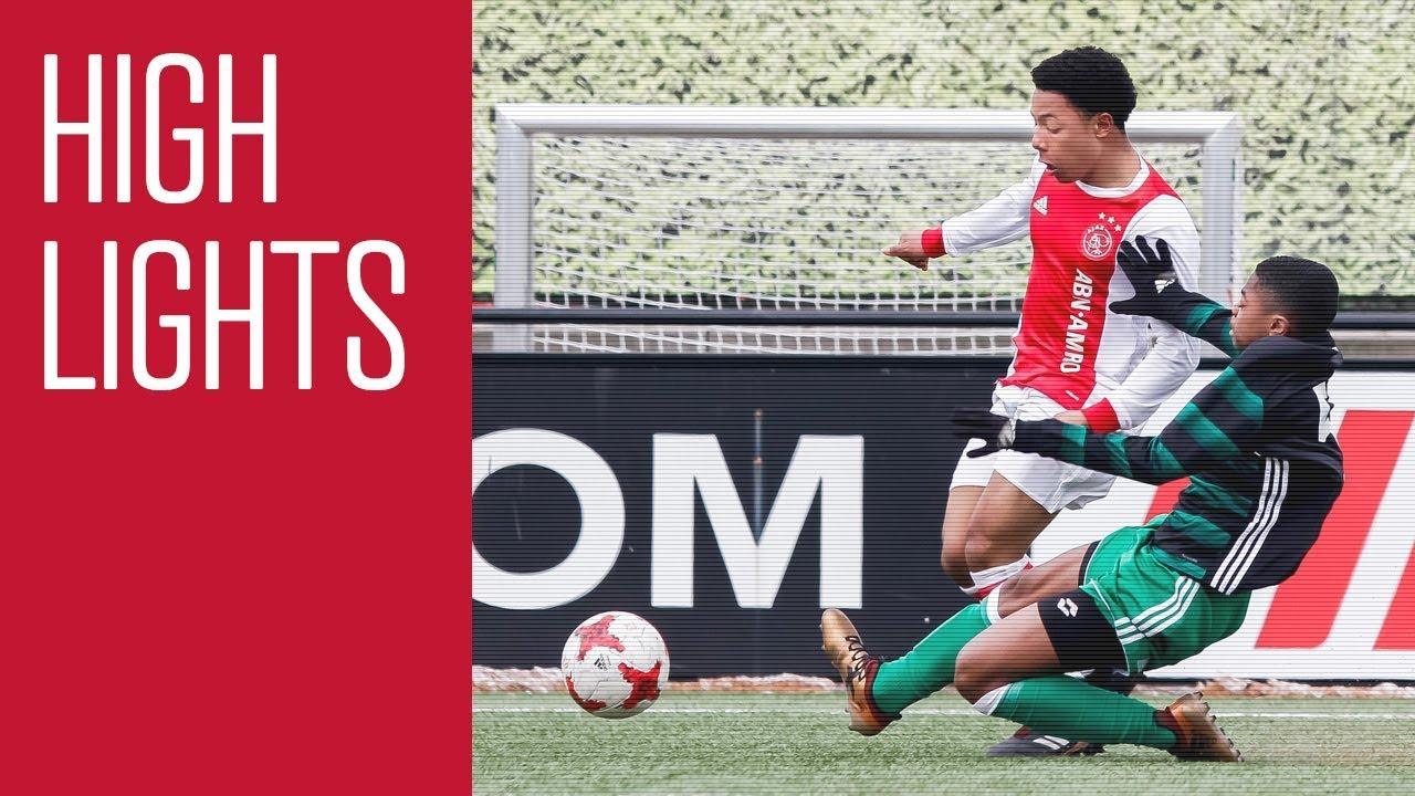 Highlights Ajax O16 - Feyenoord O16
