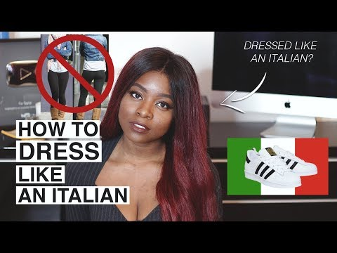 HOW TO DRESS LIKE AN ITALIAN SECONDO UNA RAGAZZA AMERICANA | ITALY VS USA FASHION UPDATE