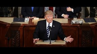 TRUMP MAKES FIRST ADDRESS TO JOINT SESSION OF CONGRESS: Condemns Hate, Pushes GOP Policies