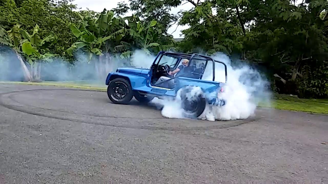 Jeep Wrangler 350 Twin Turbo Yj Burnout Donuts Dejandosela Caer Ciales Pr