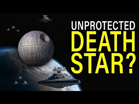 Why didn't the DEATH STAR have an ESCORT FLEET (at the Battle of Yavin)? | Star Wars Lore