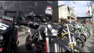 Fun Ride Anniversary 2nd SUPERMOTO NO RULES 150 cc From BALI