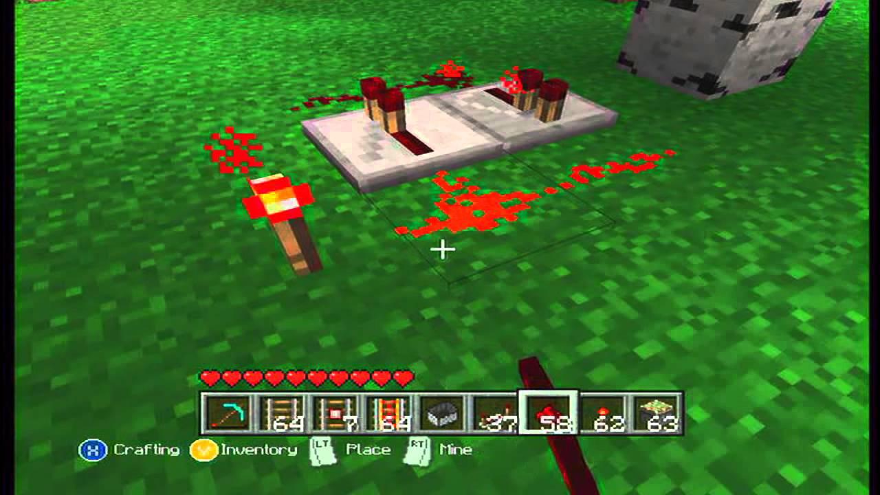 Minecraft xbox 360 tipos de relojes de redstone youtube - Tipos de relojes ...