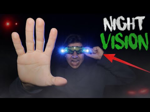 DO NOT USE NIGHT VISION GOGGLES AT 3:00 AM l 3 AM NIGHT VISION GOGGLES CHALLENGE l (GHOST!)
