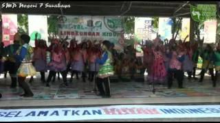 Lomba Yel Yel LH2015   SMPN 7 Surabaya