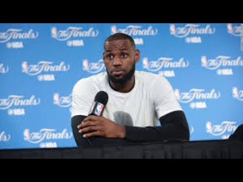 (REACTION) SOME PEOPLE THINK LEBRON JAMES HAD HIS HOME VANDALIZED TO TONE DOWN CRITICS IF HE LOSES!