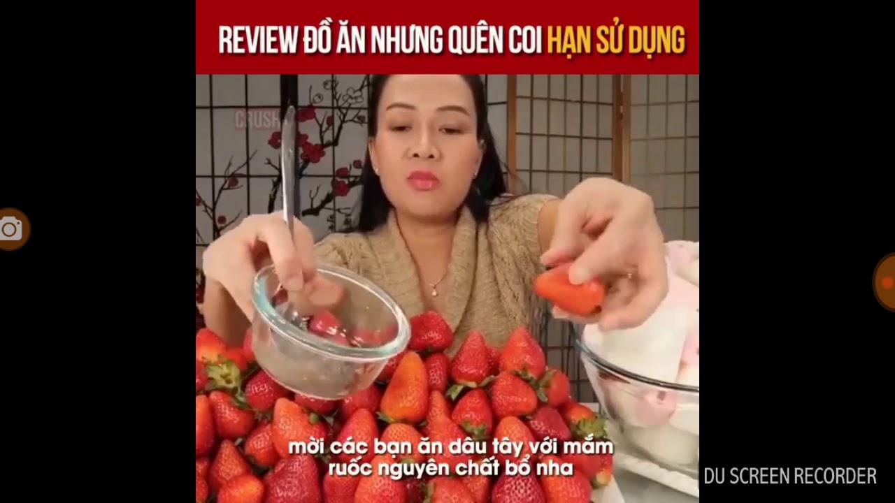 Review đồ ăn quên coi hạn sử dụng.
