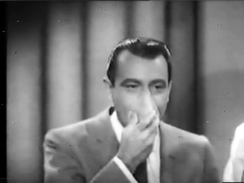 Fenneman inhales helium - Rare clip from You Bet Your Life (Dec 26, 1957)