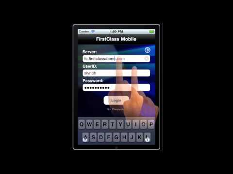 FirstClass IOS Mobile Configuration