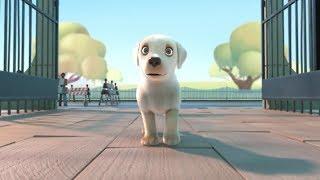 Dil hai chota choti si aasha|| new best Animated video || based on dog story