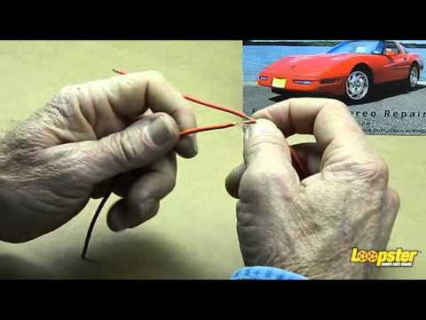 how to fix chevy corvette bose c5 no sound door subwoofer. Black Bedroom Furniture Sets. Home Design Ideas