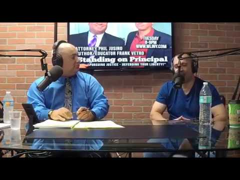 Antonio Graceffo Featured on Standing on Principle, WLINY Radio