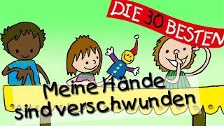 Meine Hände sind verschwunden - Die besten Spiel - und Bewegungslieder || Kinderlieder