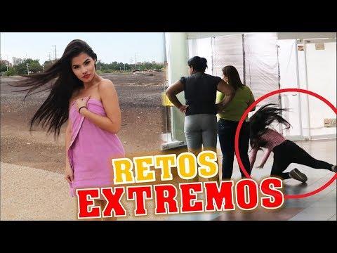 RETOS EXTREMOS EN LA CALLE -  BROMA A MI EX YOLO, LO LLAMO MOLESTA