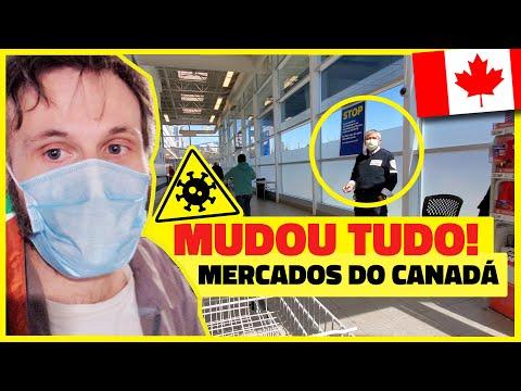 COMO O SUPERMERCADO DO CANADÁ ESTÁ SE ADAPTANDO AO CORONAVÍRUS COVID-19 - Vlog Ep.133