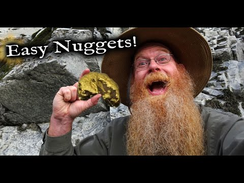 Why Are These Gold Nuggets So Easy To Find?      (Part 2 Of 2)