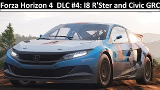 DLC Week 4 Overview (BMW i8 Roadster and Honda Civic GRC) - Forza Horizon 4