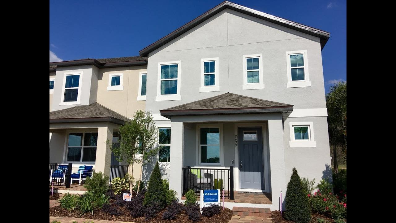 Attrayant Winter Garden New Homes   Watermark Townhomes By Meritage Homes   Casabasas  Model