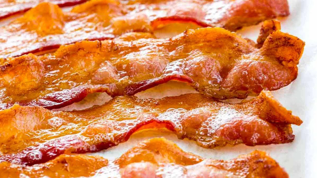 how long to cook bacon in the oven at 350