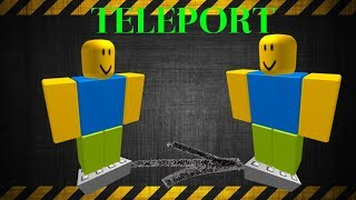 Roblox Teleport Script Tutorial
