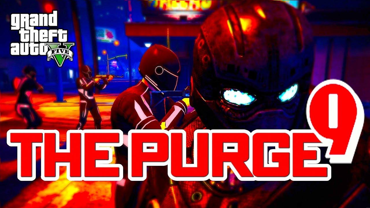 Download GTA 5 ONLINE - THE PURGE SEASON 2 EPISODE 9