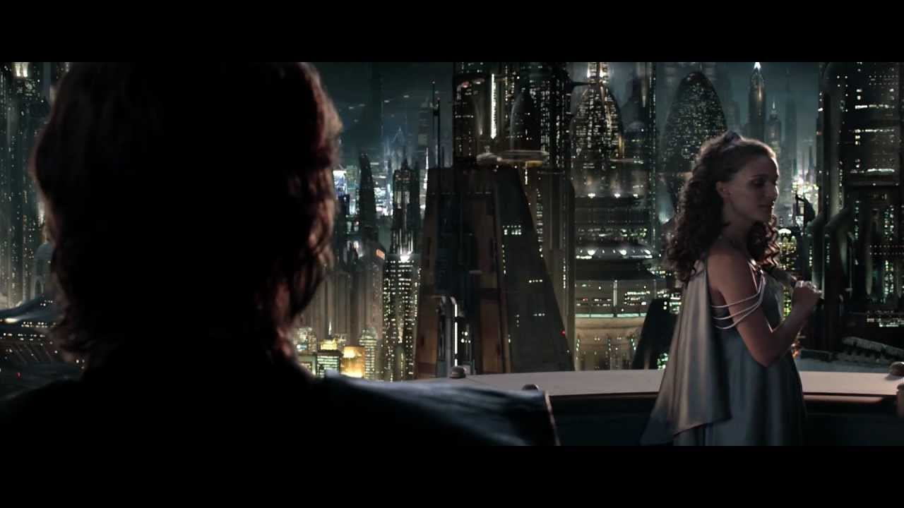 Anakin And Padme S Love Scene Blind By Love Youtube