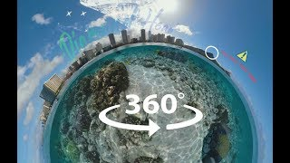 #Hawaii  - Playful AR 360° Video of #Oahu