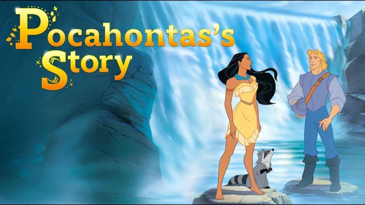 Disney Pocahontas Story Read Along for kids - Bedtime Stories - YouTube