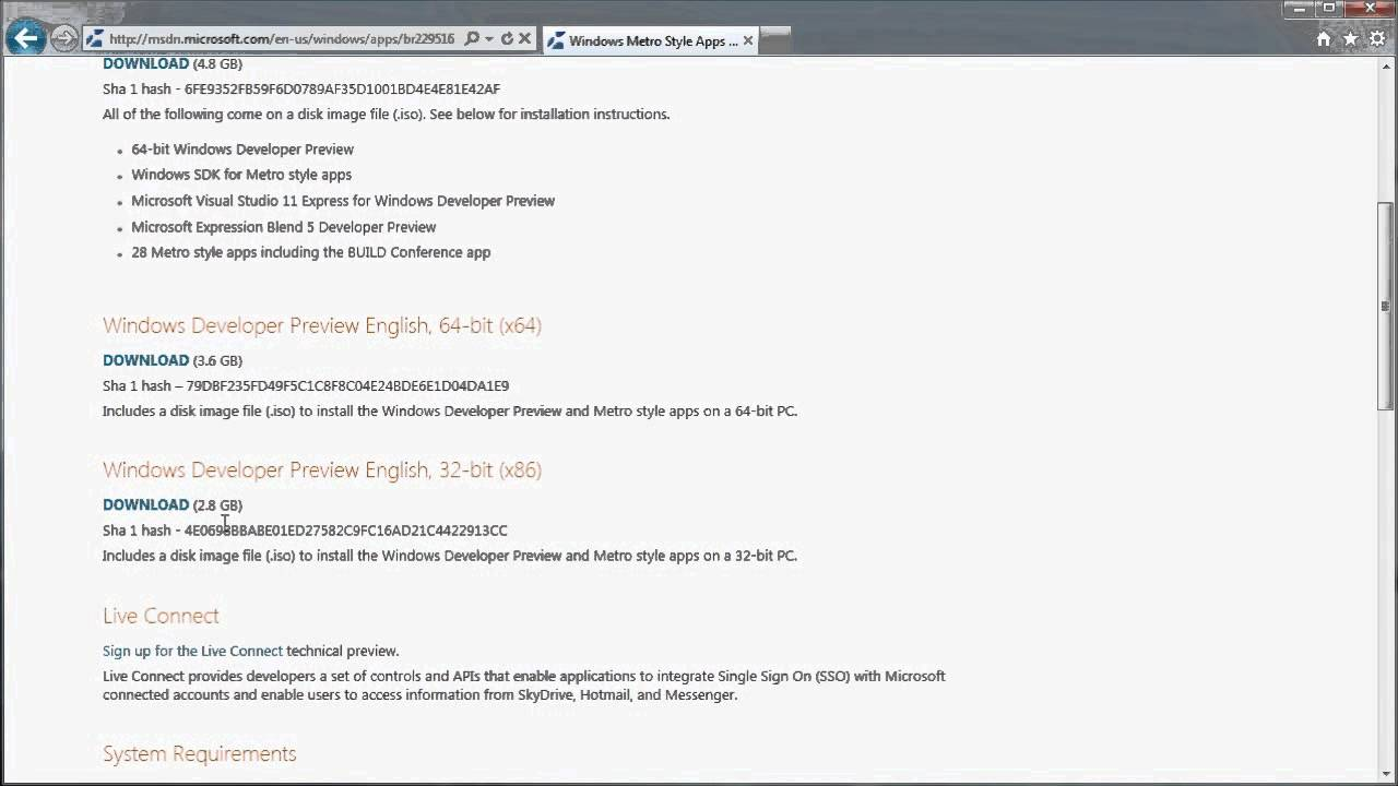 Windows 8 developer pre-beta how to download learnngo. Com youtube.