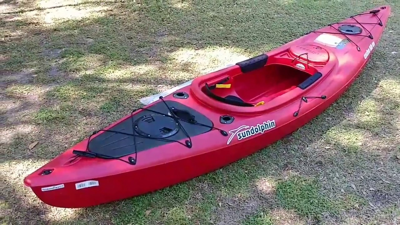 Sun Dolphin Aruba 12 Ss Review Sit In Fishing Kayak Youtube
