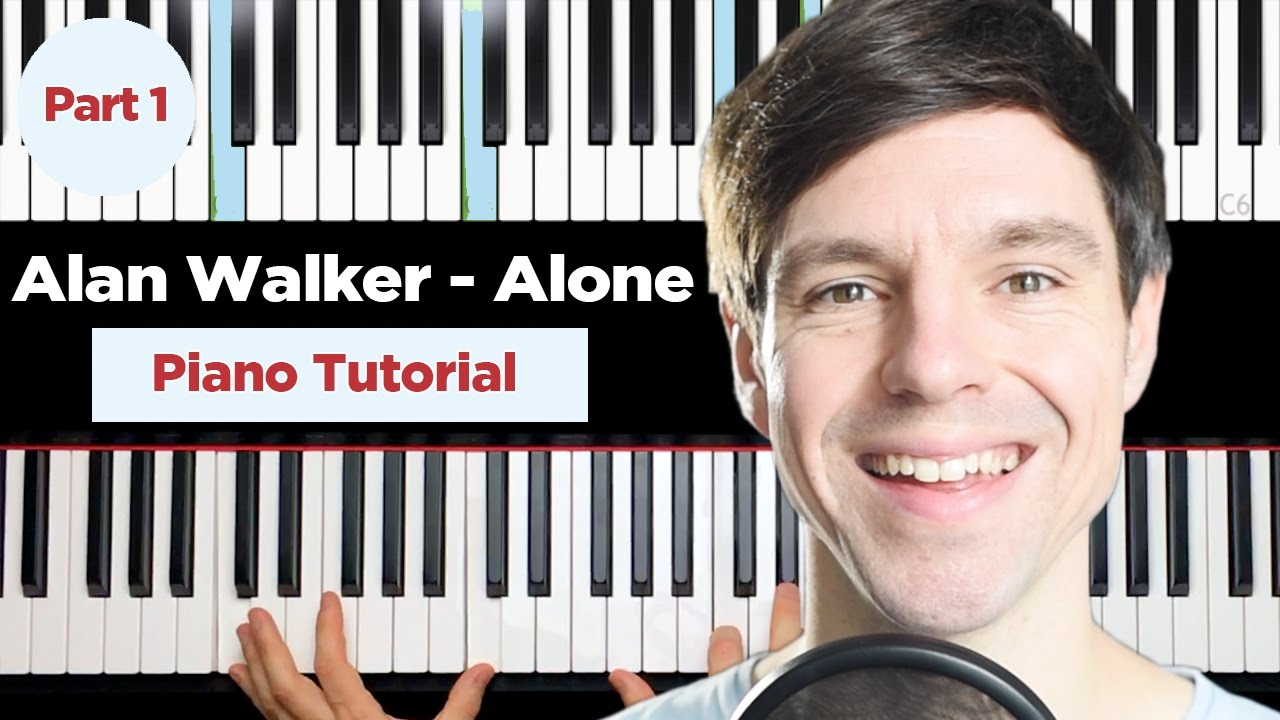 Alan walker alone piano notes