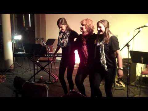 AEMT Cabaret Night 2017 -  Alunelul   Folk Dance -  Zoe, Sydney and Anna