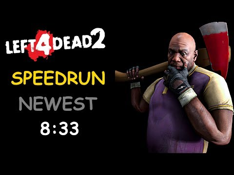Left 4 Dead 2 Solo Speedrun 8 Minutes The Passing World Record