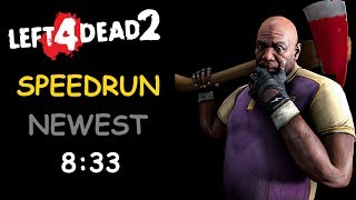 Left 4 Dead 2 Solo Speedrun 8 Minutes The Passing