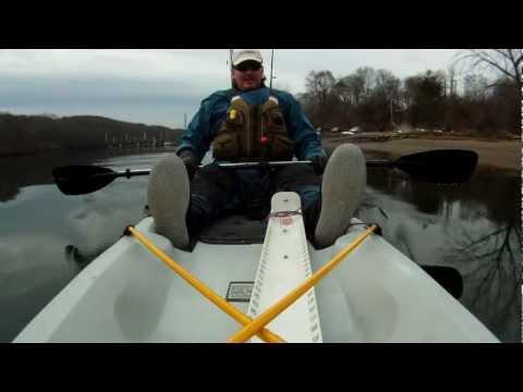 Kayak Fishing Test With Fish N' Dive