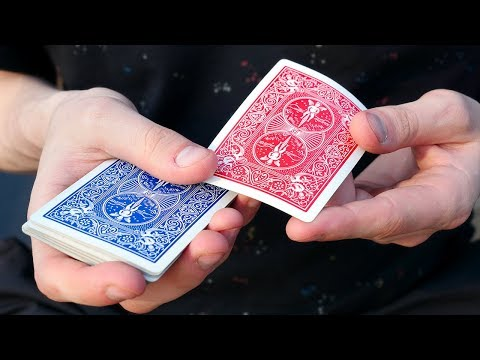 BLUE TO RED - Card Trick Tutorial thumbnail