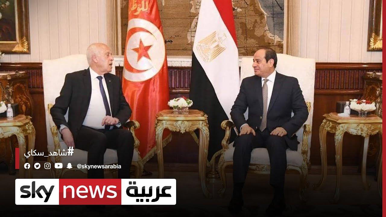 قمة مصرية تونسية في القاهرة اليوم  - نشر قبل 55 دقيقة