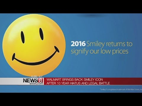 Wal Mart Revives Smiley Face Image For Price Marketing Youtube