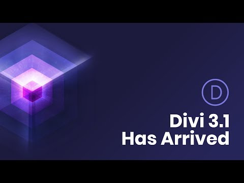 Divi 3.1 Has Arrived! Introducing The New Divi Developer API.