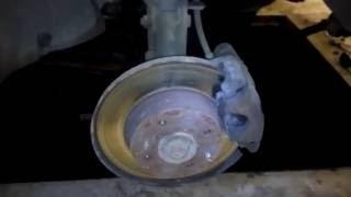 Замена тормозных колодок,диска  на ваз 2108 2109 2110.Ремонт суппорта