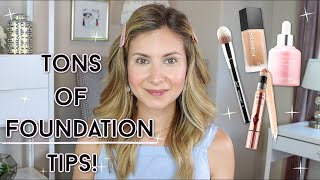 TONS of Foundation Tips for a …