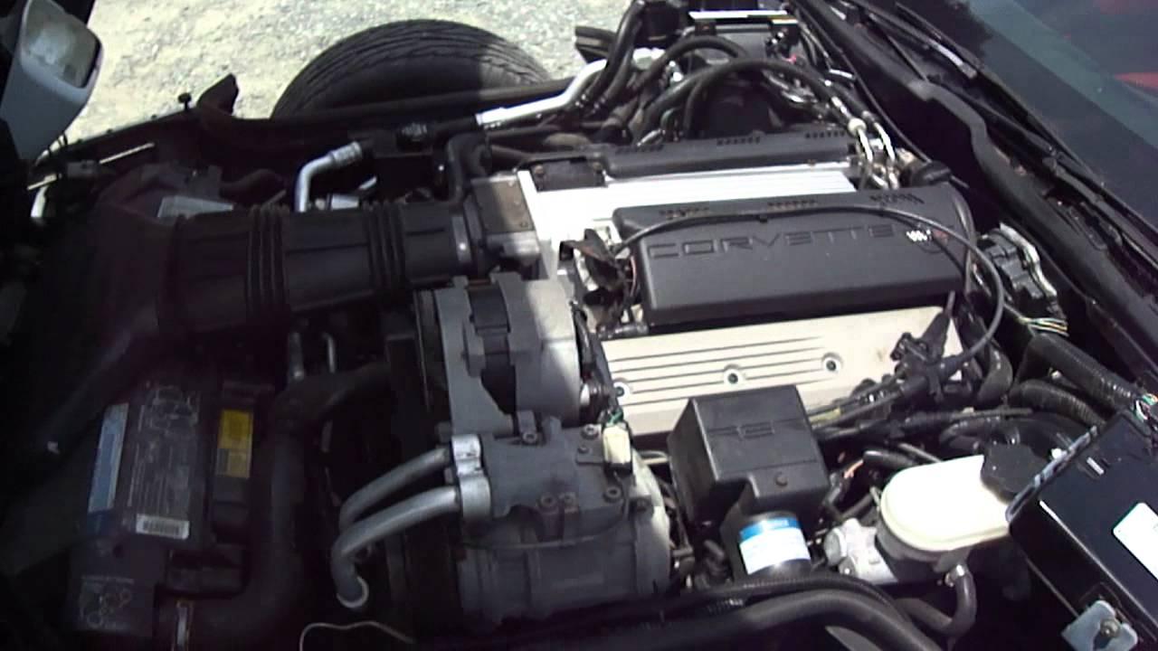 1992 Corvette C4 LT1 300 HP Engine  YouTube