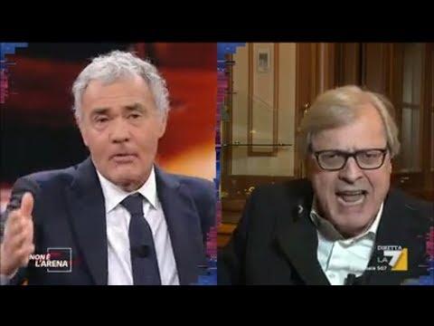 """VITTORIO SGARBI Sulla Morte Di IMANE FADIL: """"La Magistratura Perde Tempo!"""" (Non é L'arena 24/3/19)"""