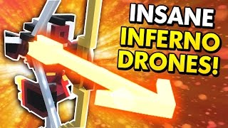 INSANE NEW INFERNO CLONE DRONES! (Clone Drone in the Danger Zone Funny Moments)