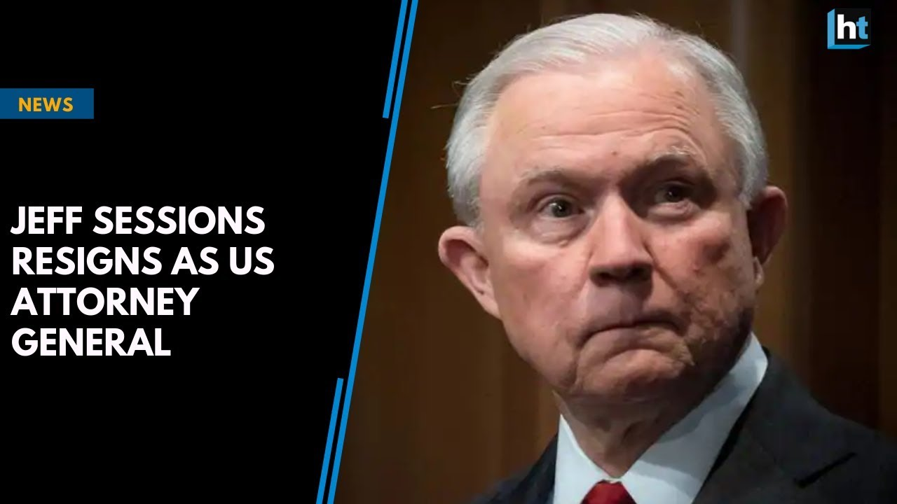 Jeff Sessions arrives home after resigning as US Attorney General